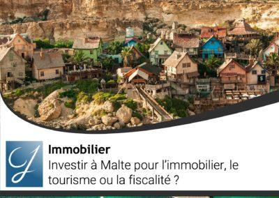 Investir à Malte pour l'immobilier, le tourisme ou la fiscalité?