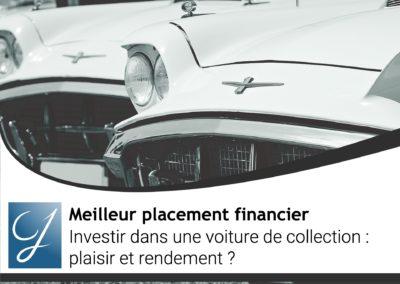 Investir dans une voiture de collection plaisir et rendement?