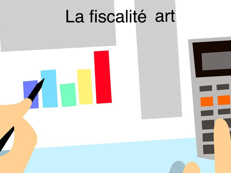 la fiscalité art