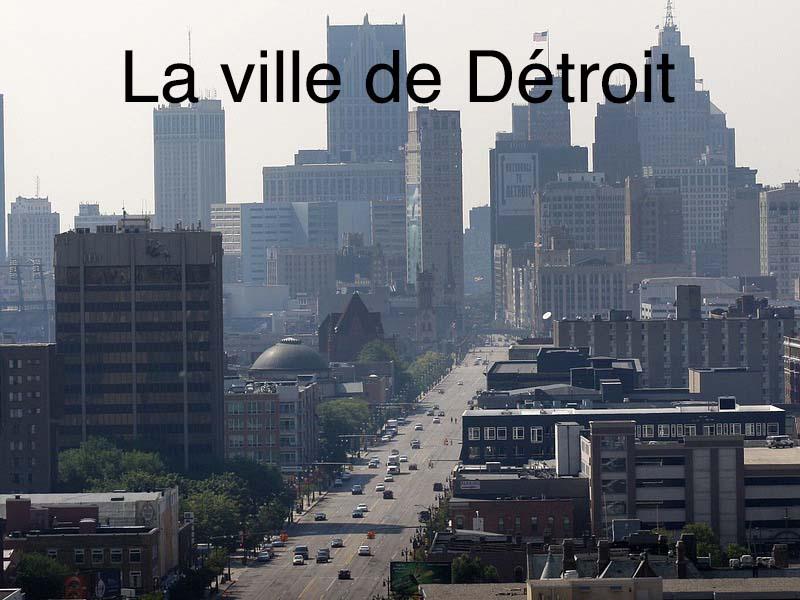 la ville de Détroit