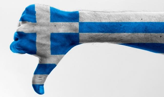 Le CAC40 vote non à la Grèce!