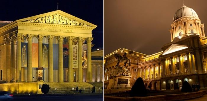 Le Musée des Beaux Arts à Zuglo