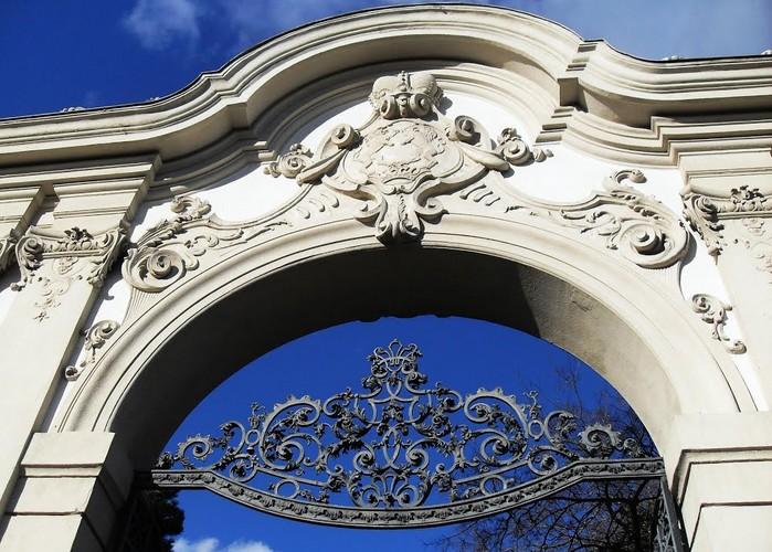 Le portail du Château Keszthely