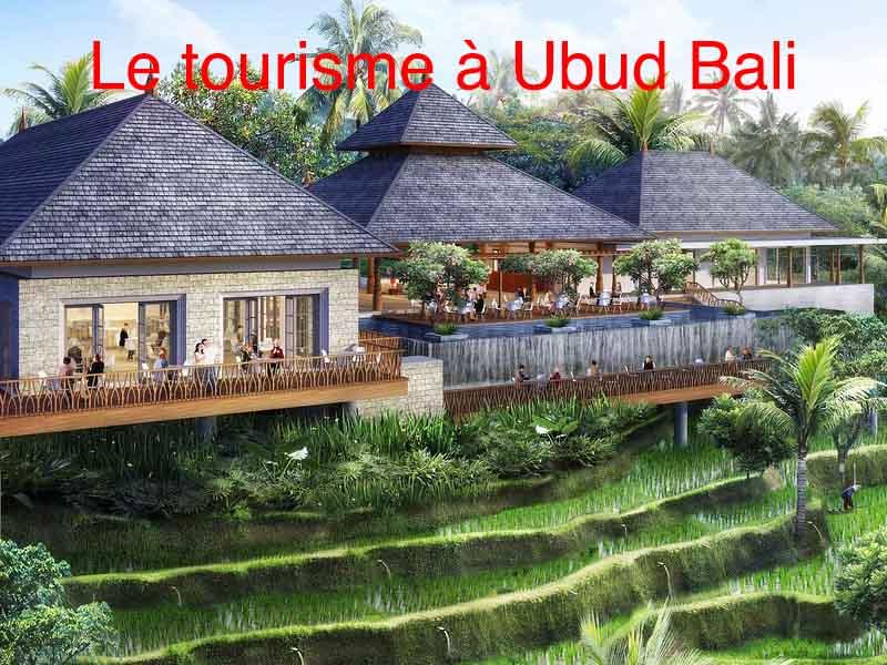 le tourisme à ubud bali