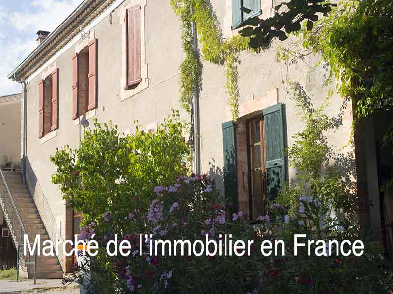 marché immobilier France