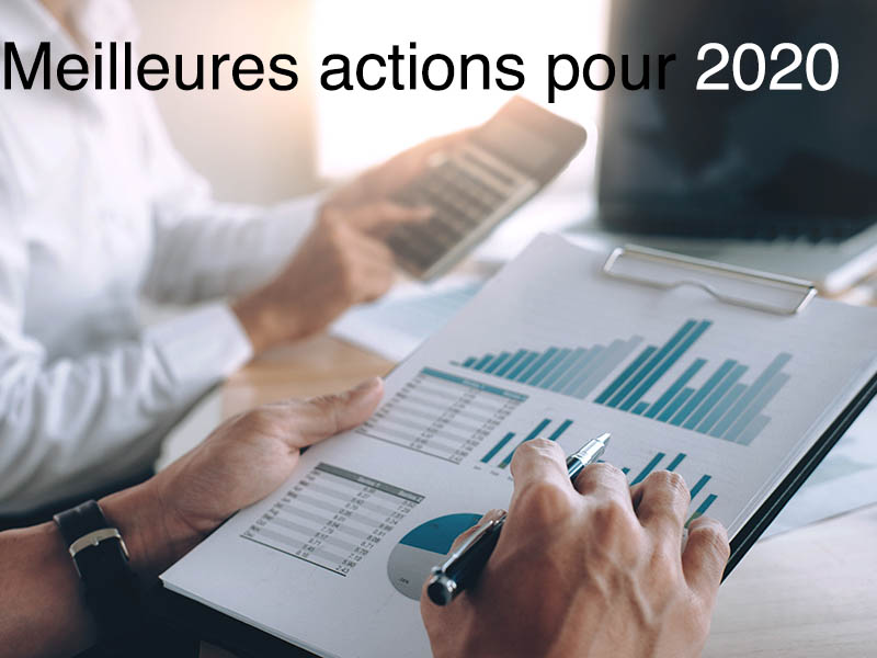 meilleures actions 2020
