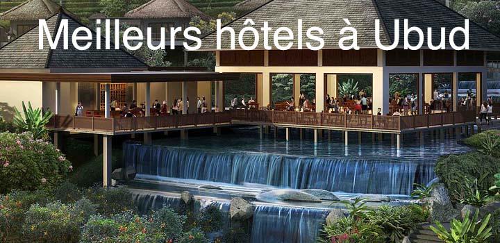 Les meilleurs hotels à Ubud et les logements alternatifs