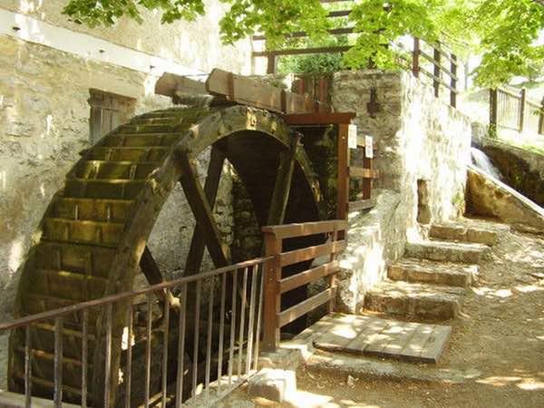 moulin à eau Örvényes Hongrie