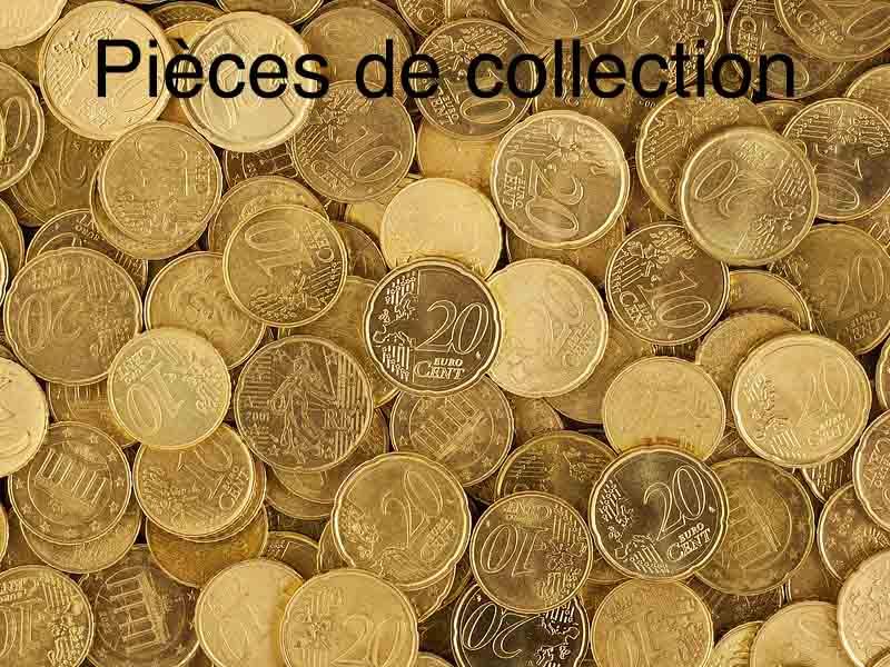 les pièces des collection