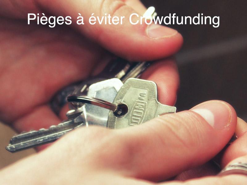 pièges à éviter crowdfunding