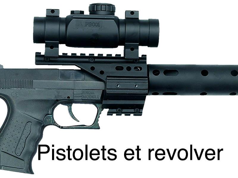 pistolet revolver