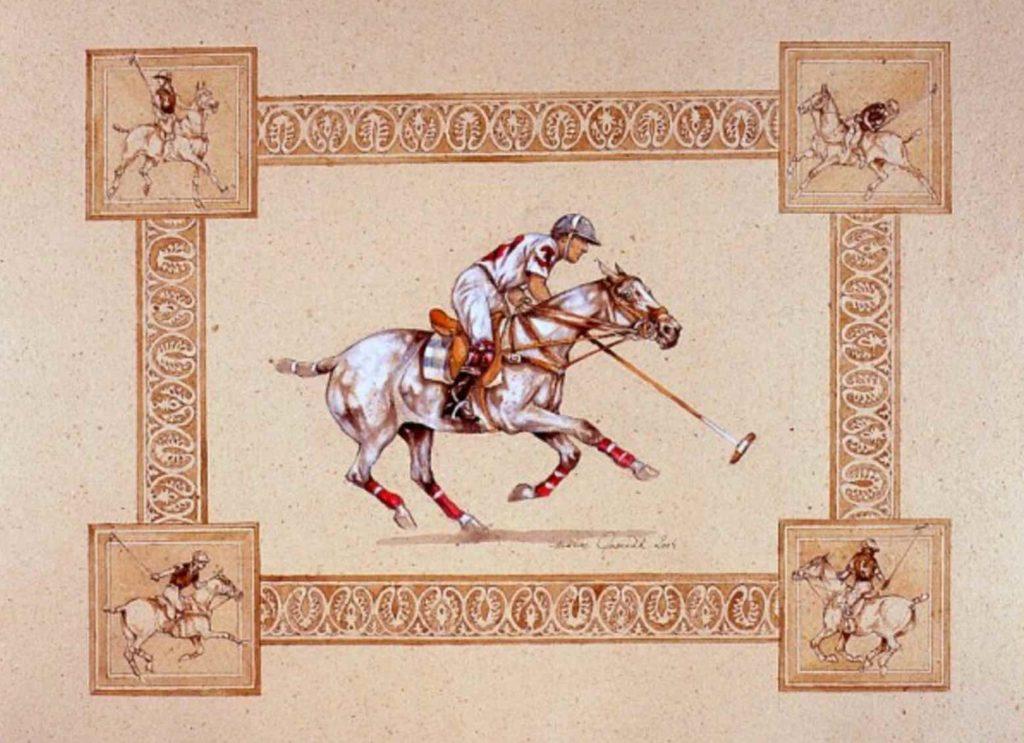 marine oussedik chevaux polo