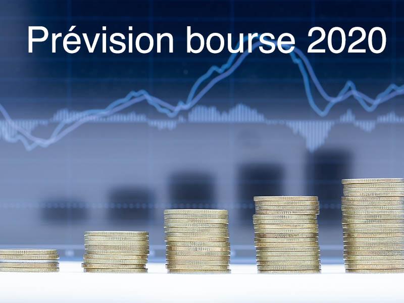 prévision bourse 2020