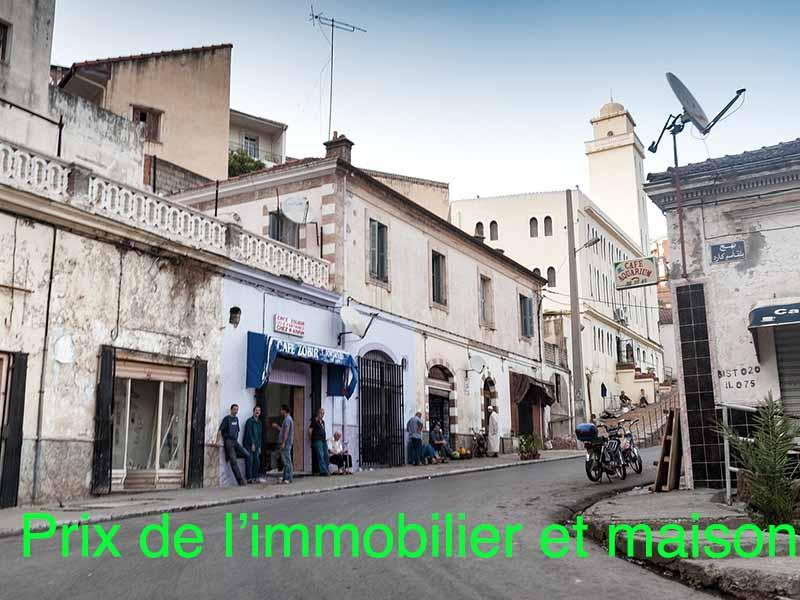prix immobilier maison algérie