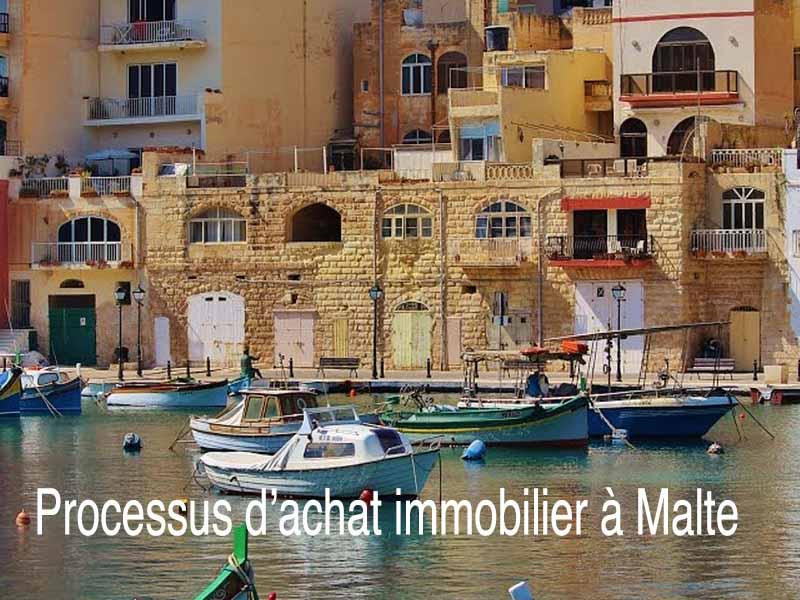 processus achat immobilier à Malte