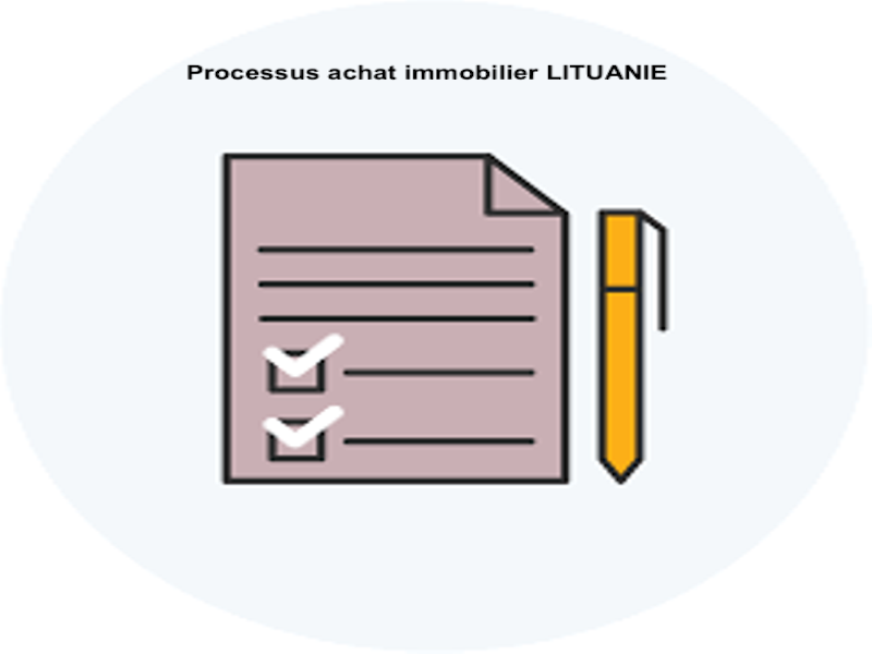 processus achat immobilier Lituanie