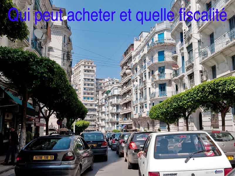 qui peut acheter en Algérie et comment