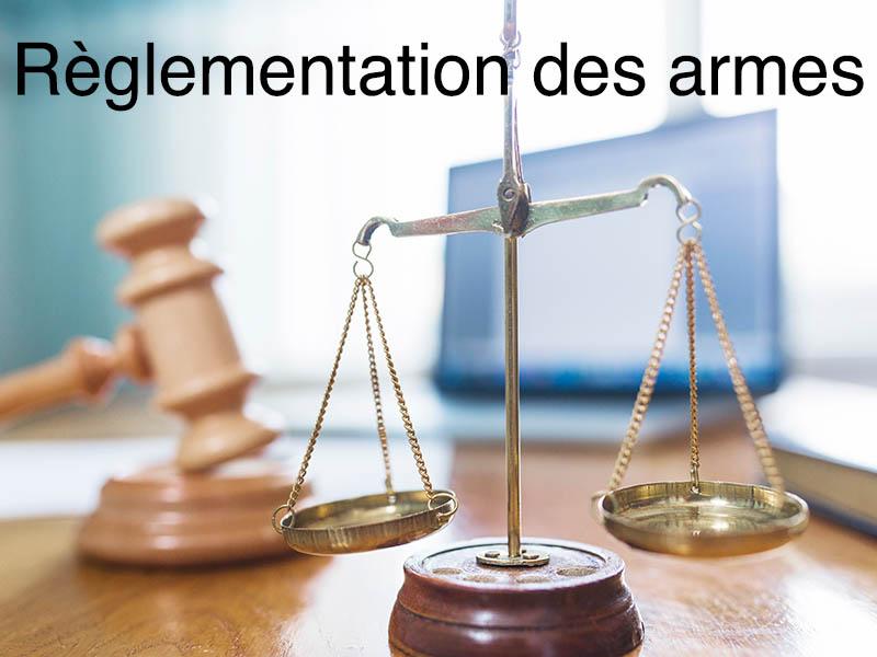 reglementation armes
