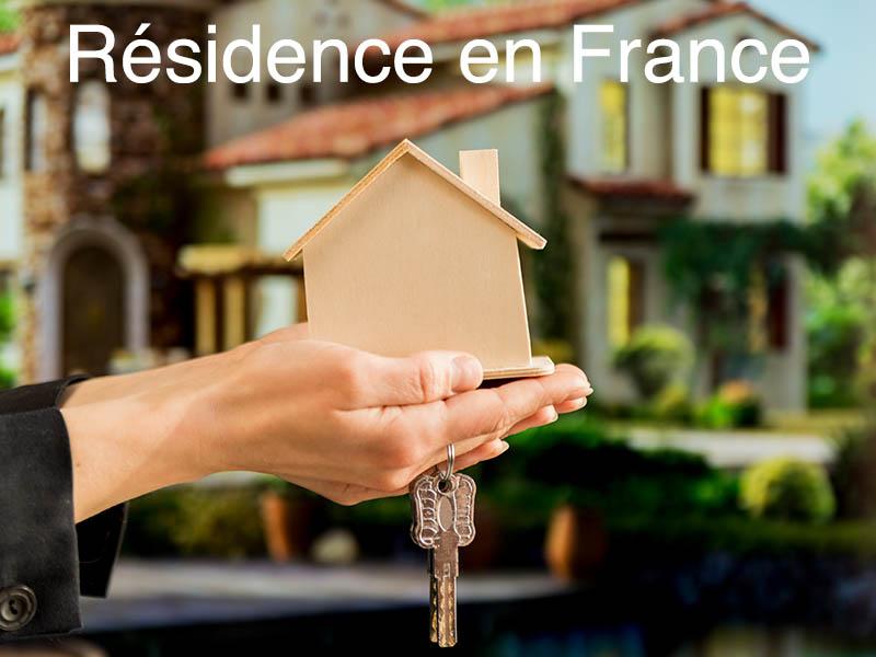 résidence principale en France