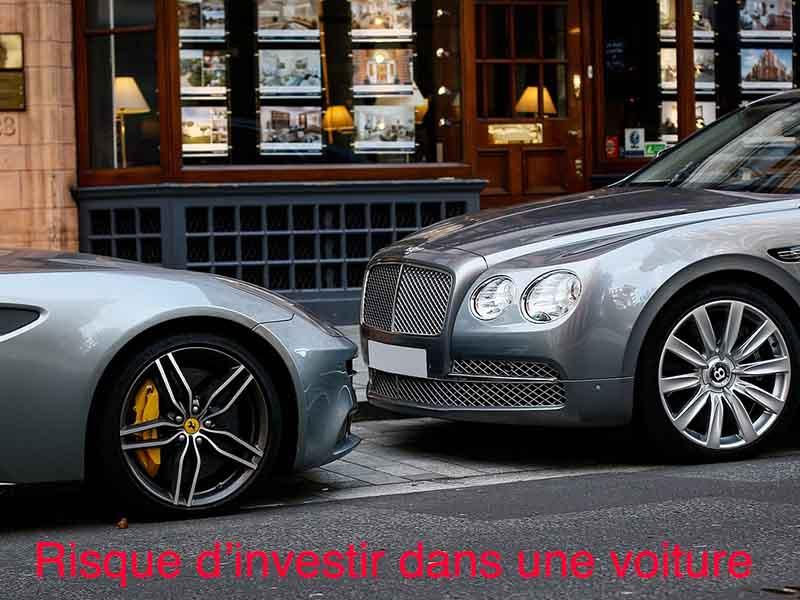 risque investir voiture de collection