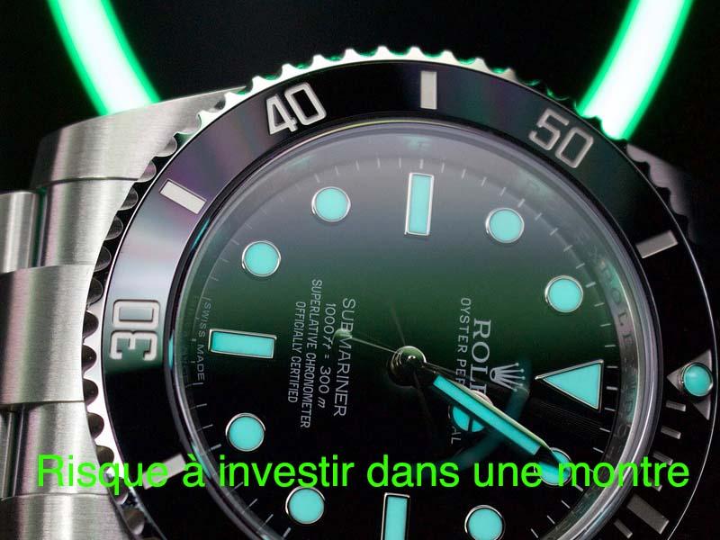 risque investir montre