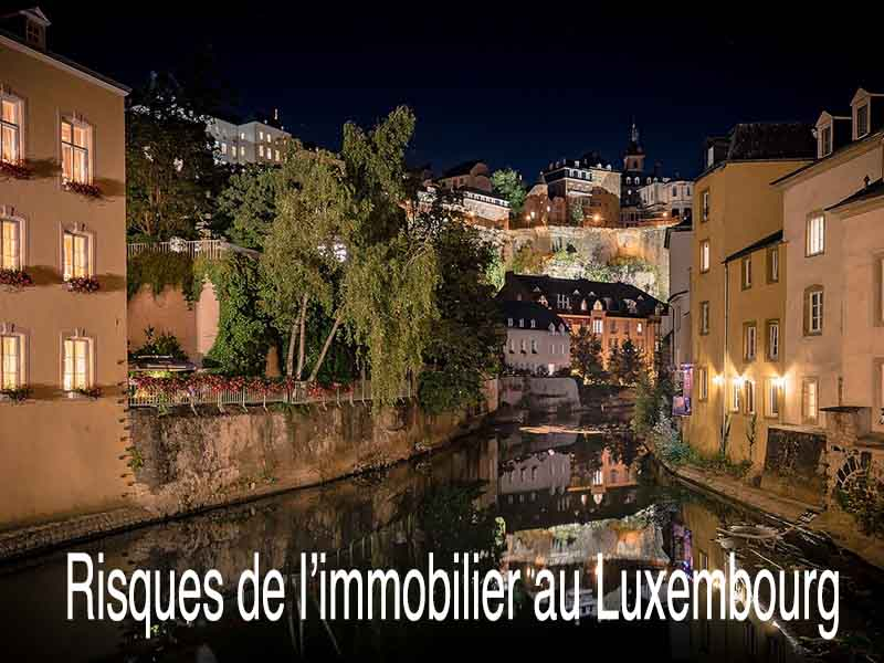 risque immobilier luxembourg