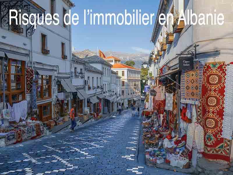 risque immobilier Albanie