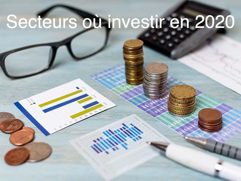 secteurs où investir 2020
