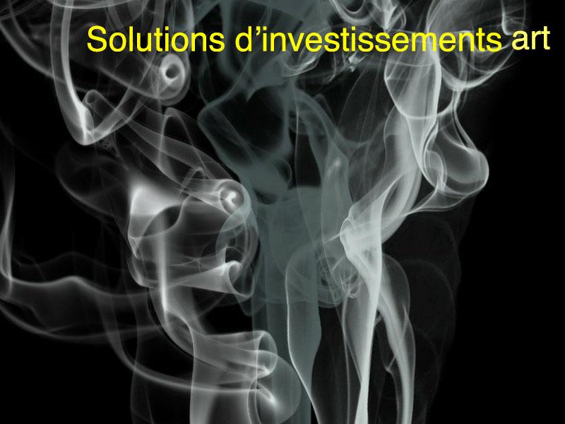 solutions investissement art