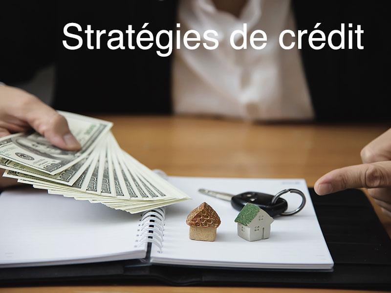 stratégie immobilier crédit