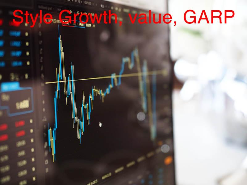 style de gestion growth, value et garp