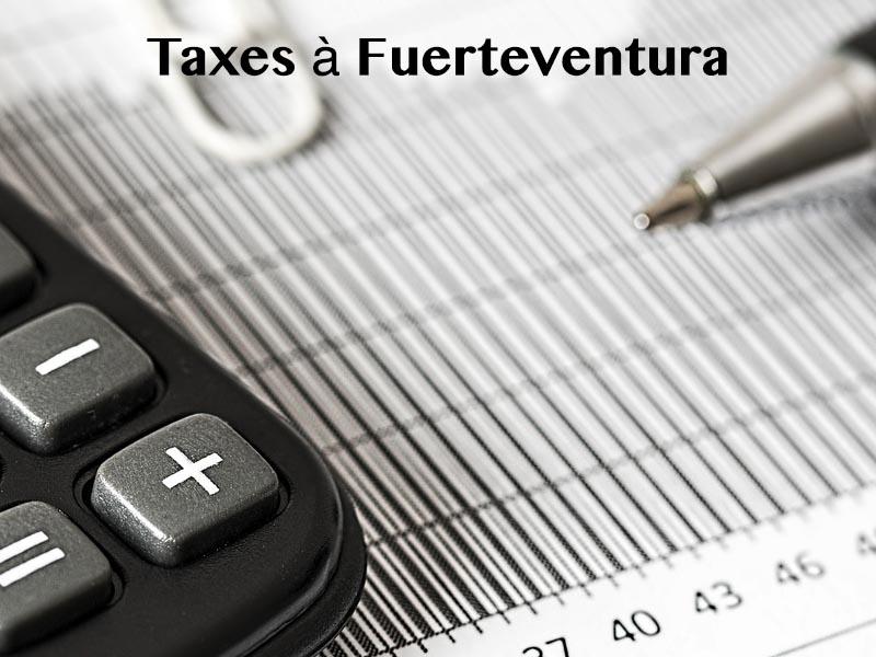taxes à fuerteventura