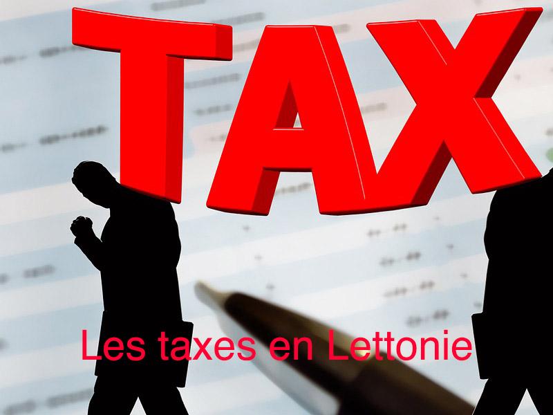 taxes lettonie