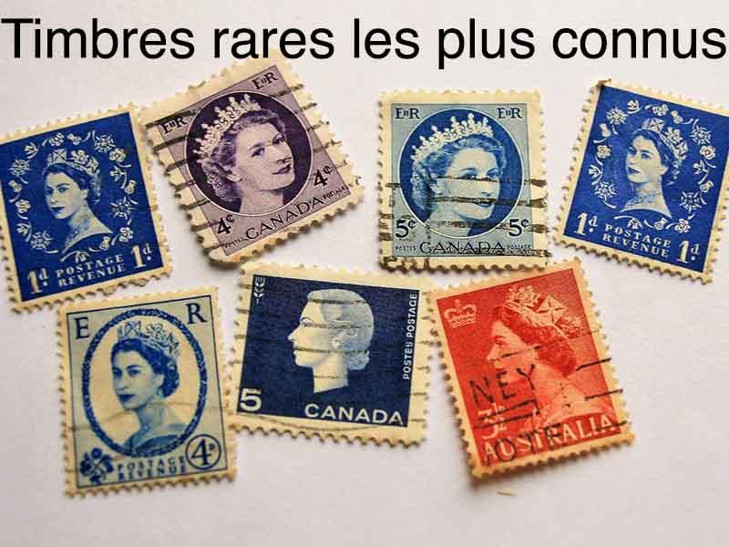 timbres rares les plus connus