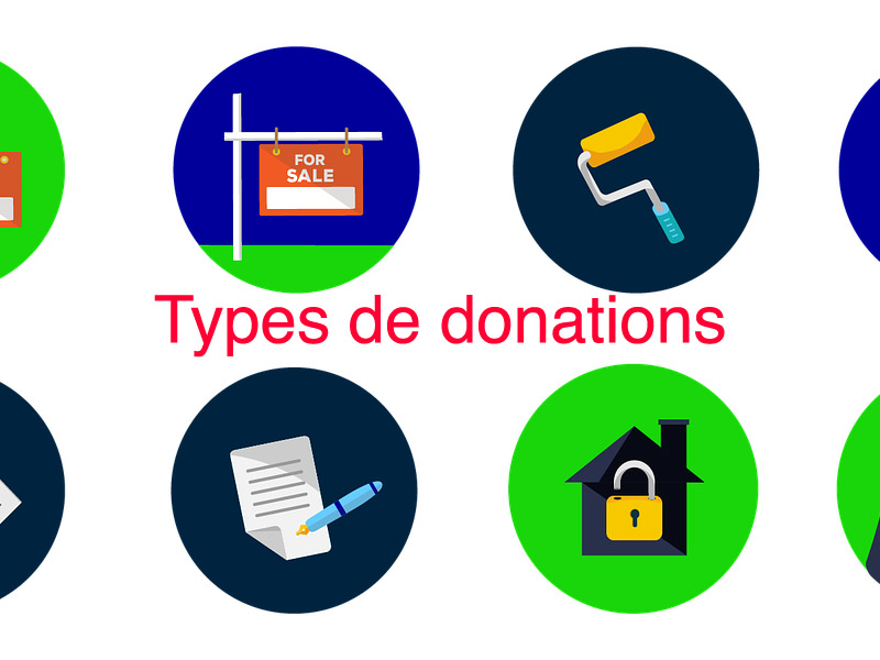 types de donations