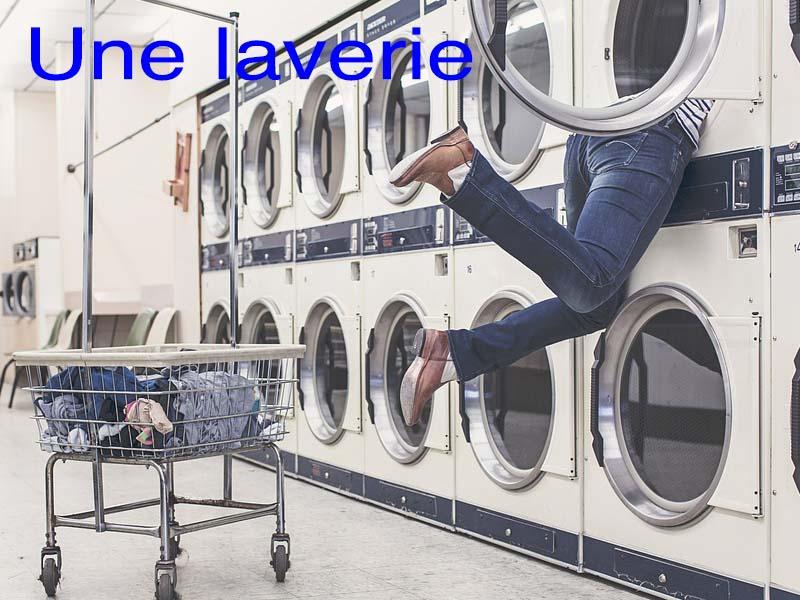 une laverie